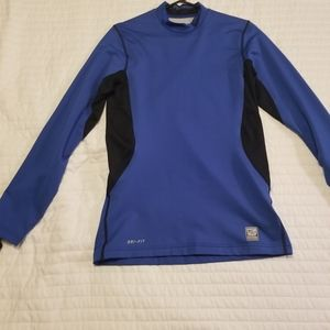 Mens Nike Pro Combat Long Sleeve Shirt S